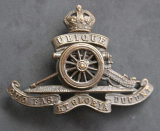 Royal Artillery Cap Badge | Hungerford Virtual Museum