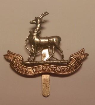 Cap badge, Royal Warwickshire Regiment | Wikipedia