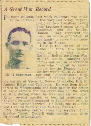 Alex Wilfred C. Stapleton