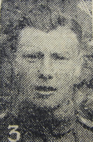 Private Cyril Gale, 7th Battalion Lincolnshire Regiment   Courtesy of The Grantham Journal