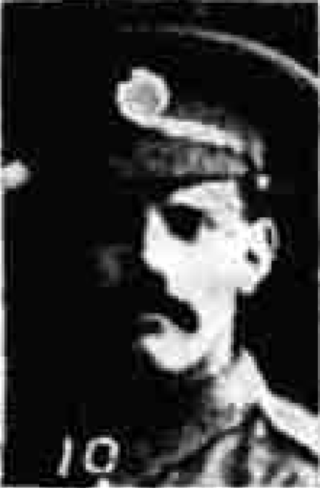 Isaac Johnson, Private 24th Northumberland Fusiliers | Courtesy of the Grantham Journal