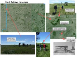 Locating Frank Raithby's homestead, now community pasture (NE 30-27-16 W3) | BCHG DM