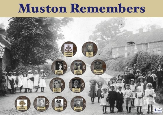 Muston 1st World War Flower Festival @ St John The Baptist Church | BCHG DM