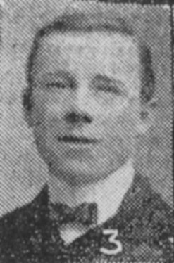Private James Herbert (Bert) George Skinner 6th (Service) Battalion, Leicestershire Regiment | Courtesy of the Grantham Journal