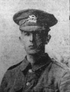 Pte. Thomas William Skinner, 2nd Battalion Leicestershire Regiment | Courtesy of The Grantham Journal