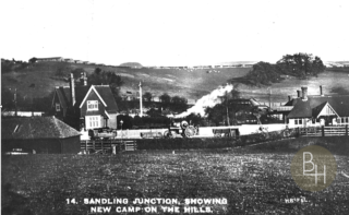 Sandling Camp where Frank Raithby was posted from November 1917 to March 1918 | BCHG DM