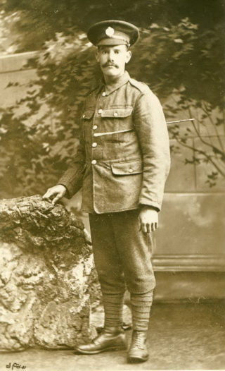 Pte. Isaac Johnson, Royal Engineers | Courtesy of Mr. Paul Dujon