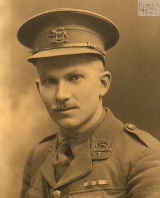 studio portrait of Francis John Nugee, 1st/4th Leicestershire Regiment   Courtesy of Julian Walker