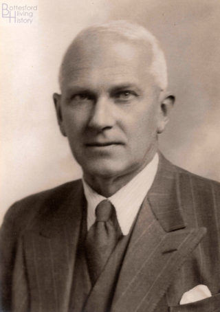 Francis John Nugee, probably photographed while Headmaster of Eastbourne College   Courtesy of Julian Walker