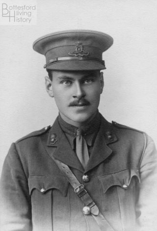 Lieutenant George Nugee, early during WW1 | Courtesy of Julian Walker