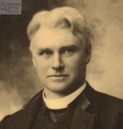 Reverend Francis Nugee, Rector of Muston 1903-1913. | Courtesy of Julian Walker