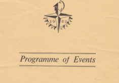 Bottesford Festival Week 1951 Programme Cover