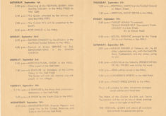 Bottesford Festival Week 1951 Programme