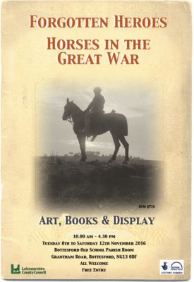 'Forgotten Heroes: Horse in the Great War' | BCHG