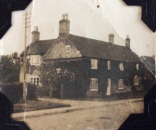 Normanton House, Normanton Lane, which was the home of the Ravell family. | From the collection of John Michael Shaw.