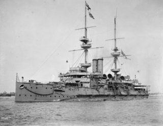 HMS Caesar, battleship on which Arthur Ireland served in 1919. | Wikipedia