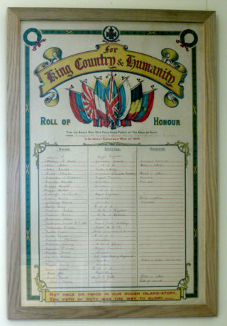 Bottesford Methodists Roll of Honour | Bottesford Heritage Archive