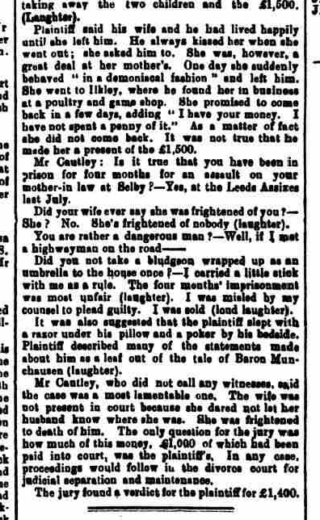 Second part of the account of the Hearing at York Assizes as given by the Shipley Times, 7/3/1902. | National Archive