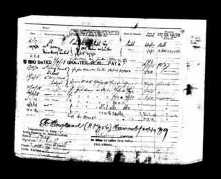 Army service record sheet relating to Private Reginald Barke, Labour Corps | The National Archive