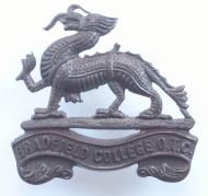 Bradfield College OTC cap badge