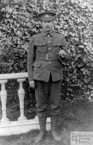 Private Harold Brewster, 1st Leicestershire Regiment | From the family archive of the late Mrs Dorothy Beedham
