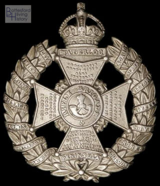 Rifle Brigade Cap Badge, WW1