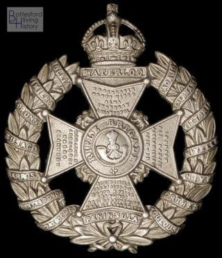 Rifle Brigade Cap Badge, WW1