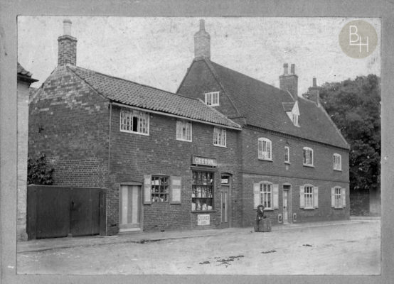 Geeson's shop, Church St | Bottesford Heritage Archive