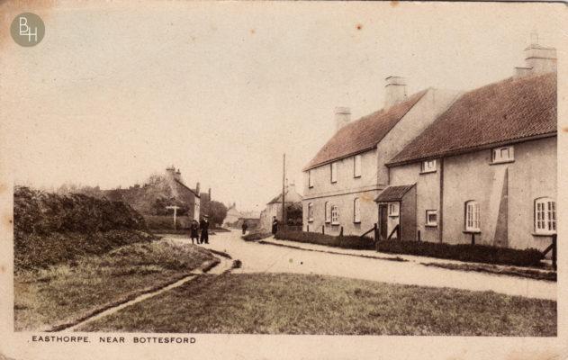 The Corner House, Easthorpe Lane, c.1920 | Bottesford Heritage Archive