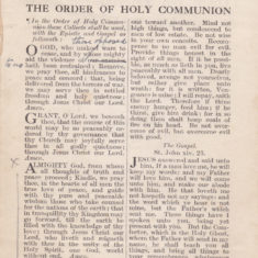 Thanksgiving and Prayer, booklet for the Treaty of Peace, July 1919 - page 2 of 4 | Bottesford Heritage Archive