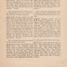 Thanksgiving and Prayer, booklet for the Treaty of Peace, July 1919 - page 4 of 4 | Bottesford Heritage Archive
