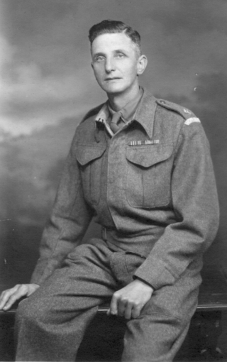 Edgar Culpin in uniform during the Second World War, when he served in the Home Guard | Bottesford Heritage Archive; from the collection of Mrs Brenda Turier