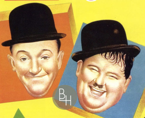 From a Laurel & Hardy magazine cover | Bottesford Heritage Archive: Copyright Mr John Cooper