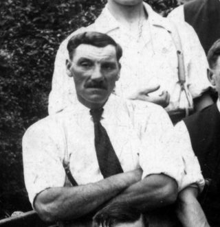 John William KIrton c.1930, taken from a picture of the Bottesford British Legion bowls team. | Bottesford Heritage Archive: from the collection of Mrs Anne Hewitt