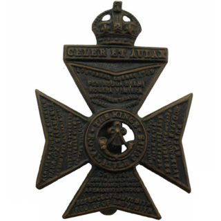 King's Royal Rifle Corps cap badge | Bottesford Heritage Archive