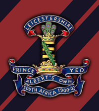 Cap badge of the Leicestershire Yeomanry, WW1 | Wikipedia: By Griff M-J - self-made, Public Domain, https://en.wikipedia.org/w/index.php?curid=15177545