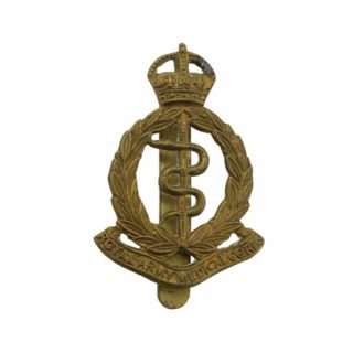 RAMC cap badge, WW1