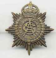 An RASC cap badge | By the kind courtesy of the Radcliffe on Trent and the First World War project (Radcliffe W.I.)