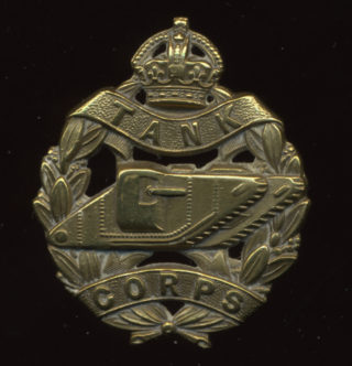 Tank Corps cap badge | Bottesford Heritage Archive