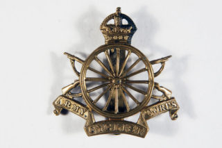 Army Cyclists Corps cap badge | Europeana staff photographer, Public Domain