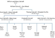 Calcraft Family at Muston