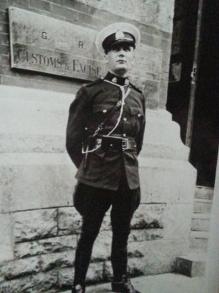Officer Cyril Calcraft in the Royal Canadian Mounted Police | Courtesy of Ms Susan Calcraft
