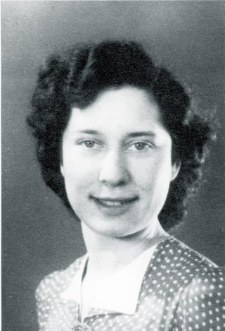 Marjorie Barker in 1943   Courtesy of Diane Coates