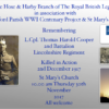 Remembering L.Cpl. Thomas Harold Cooper
