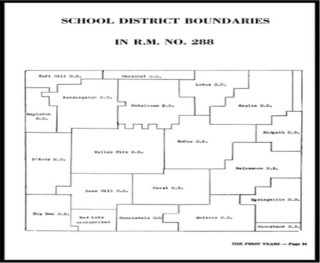Location of Belvoir School District in RM288