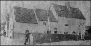 An early photograph of the Red Lion, c.1870   Bottesford Local History Archive