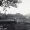 Postcard of new Grantham Road bridge and houses on Easthorpe Lane.