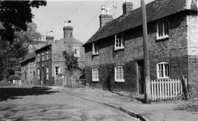 Old cottages on Church Street