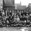 Bottesford school children posed in the school yard.