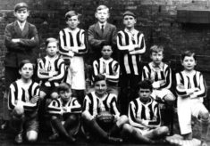 Bottesford boys football team, 1928-29.